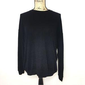 Alo Yoga Black Pullover Sweater